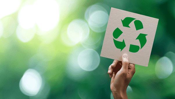 Immagine del simbolo del riciclaggio